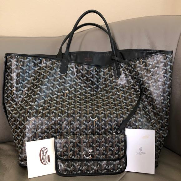 buying cheap reputable site outlet on sale Goyard Bags | Black Anjou Reversible Pm Tote Bag | Poshmark